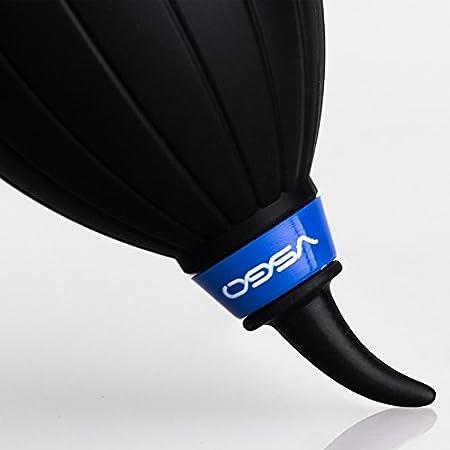 toallita h/úmeda pa/ño de limpieza de gamuza y botella impermeable UES VSGO DKL-15 DSL Kit de limpieza de lente de la c/ámara: limpiador de lentes Lens Pen soplador de aire pa/ño de microfibra