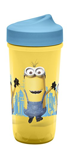 Zak Designs DESR-M010 Toddlerific Sippy Cups, 1 Pack, Minions