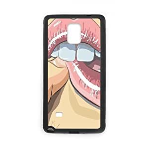 Samsung Galaxy Note 4 Case Sexy Lips Black Yearinspace YS857822