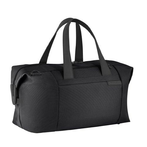 Briggs & Riley Baseline Large Travel Satchel,Black,12x19.8x9 - Luggage Riley Baseline Briggs &