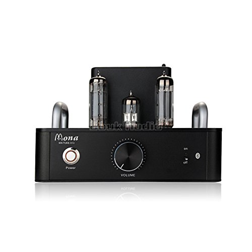Douk Audio HiFi 6P14(EL84) Vacuum Tube Integrated Amplifier; Stereo Single-Ended Class A Power Amp (Black) Douk Audio