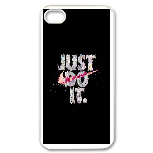 iPhone 4,4S Phone Case Just Do It D38790