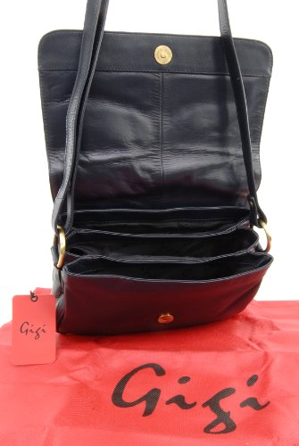 Over Flap Bag Dark OTH1008 Cross Blue Leather Gigi Body nwxU7qP