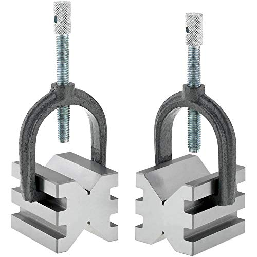 Grizzly T23889 V-Block Set with Clamp-Double Slot for sale  Delivered anywhere in USA