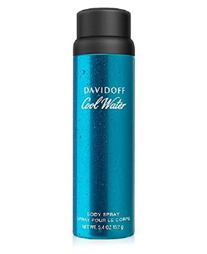 Davidoff Cool Water Body Spray, 5.4 oz.