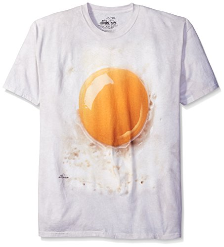 The Mountain Fried Egg T-Shirt, XX-Large, Cream