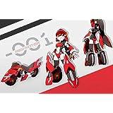 BIG Firebird 魔X姫変形 シリーズ 01 Red Motor XX-01 レッドモーター 疾速紅音 変形可能 [並行輸入品]