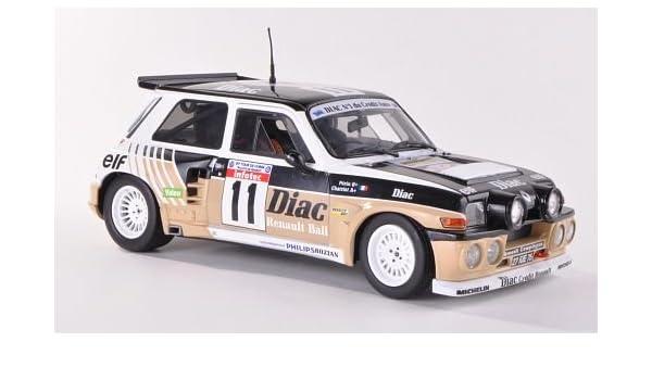 Renault 5 Maxi Turbo, No.11, Diac, gira de Corse , 1985, Modelo de Auto, modello completo, Solido 1:18: Amazon.es: Juguetes y juegos