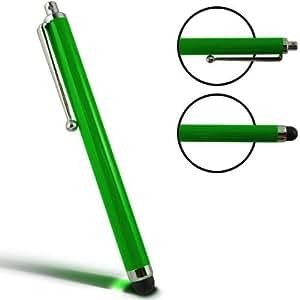 Samrick lápiz capacitivo de aluminio y lápiz capacitivo para LG Optimus One P500 - verde