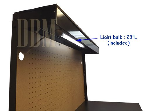 Multipurpose Workbench Cabinet Light Garage Workstation Tool Holder Storage by Generic (Image #6)