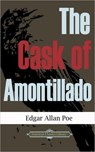an analysis of the main theme in the cask of amontillado a short story by edgar allan poe The cask of amontillado by edgar allan poe - published 1847 but i have received a pipeof what passes for amontillado, and i have my doubts from one of these depended a short chain, from the other a padlock throwing the links about his waist, it was but the work of a few seconds to secure.