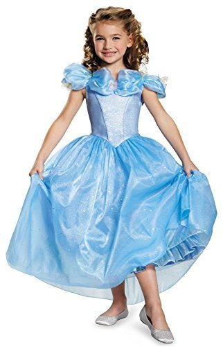 [Disguise Cinderella Movie Prestige Costume, Small (4-6x)] (Cinderella Costumes For Girl)
