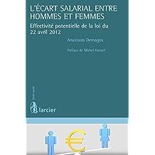 L'écart salarial entre hommes et femmes (Droit social) (French Edition)