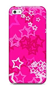 Protective Tpu Case With Fashion Design For Iphone 5c (pink)