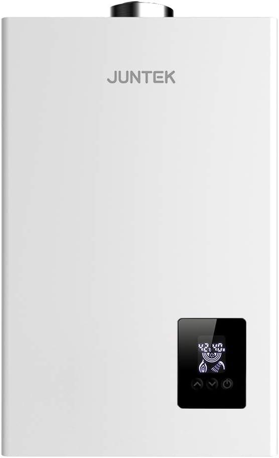 JUNTEK JCE-10N Calentador de Agua de Gas Natural Calentador de Agua Calentador de Agua Automático Calentador de Agua Instantáneo (10L)