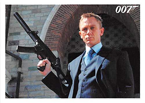 Daniel Craig trading card Casino Royale 007 James Bond #099 from Autograph Warehouse