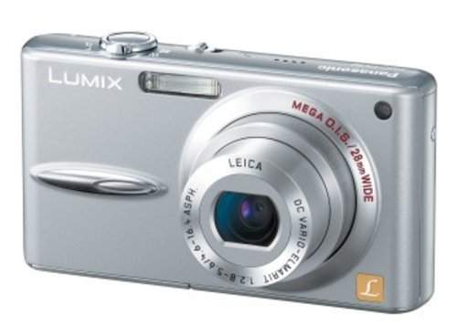 Panasonic デジタルカメラ LUMIX (ルミックス) DMC-FX30 プレシャスシルバー