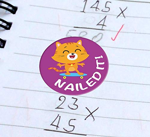 Potty Training Stickers Sweetzer /& Orange Reward Stickers for Teachers 1008 Stickers for Kids in 9 Designs 1 Inch School Stickers on Sheets Motivational Stickers Teacher Supplies for Classroom