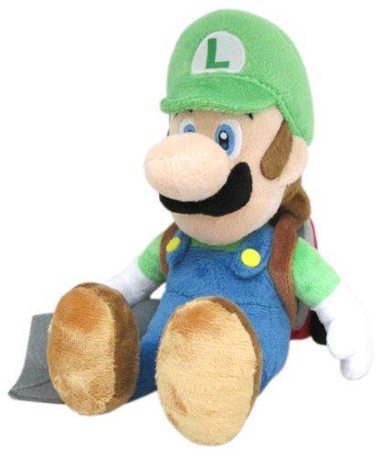 Three British trade (Sanei Boeki) Luigi's Mansion 2 Luigi (e vacuum head) stuffed toys