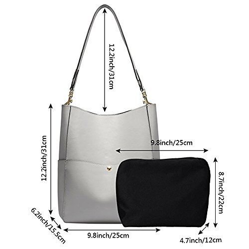 S-Zone Leather Shoulder Bag Tote Bag Handbag Bucket Bag Ladies Commuting Jp F/S