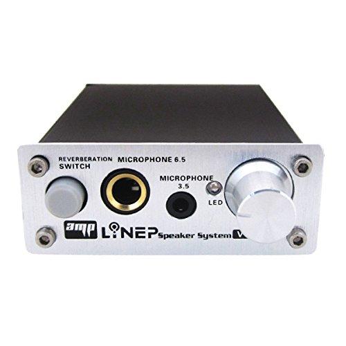 Echo Mic Preamp 2-Channel Audio Mixer 3.5mm/6.5mm Dual Microphone Echo Amplifier Computer Micphone Preamplifier