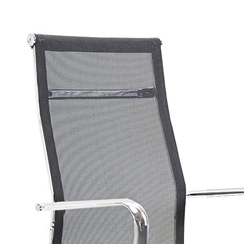 Cadeira Escritório Presidente Giratória Firenze Com Regulagem de Altura a Gás e Revestimento Preto