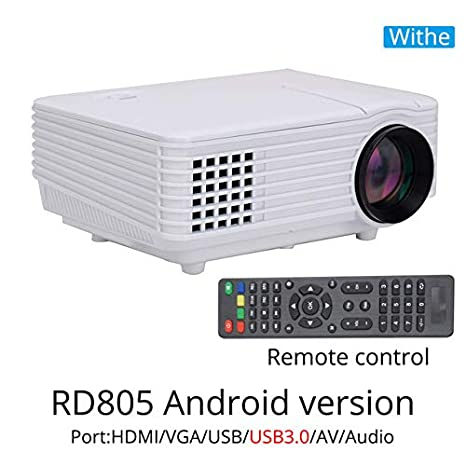 Proyector RD805AW, 800 lúmenes, Android 4.4, WiFi, LED, Tablet, TV ...