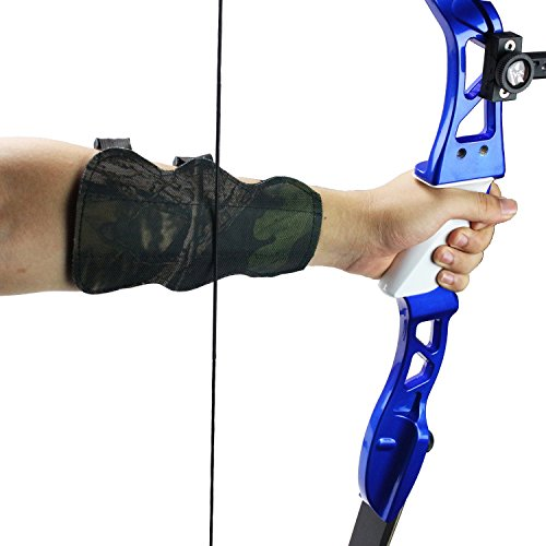 SinoArt 66 Metal Riser Takedown Recurve Bow Adult Archery Competition Athletic Bow Weights 20 22 24 26 28 30 32 34 36 LB Right Handed Archery Kit (Black, Right Hand 36 Lbs)