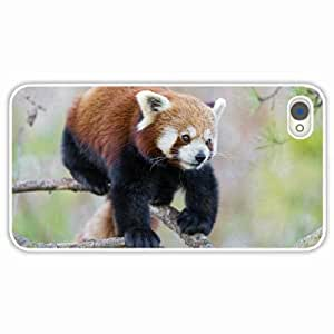 Personalized Apple iPhone 4 4S Back Diy PC Hard Shell Case Panda White