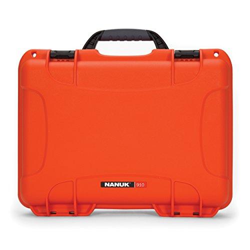 Nanuk 910 Waterproof Hard Case Empty - Orange