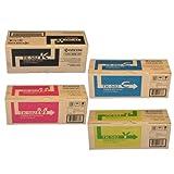 Kyocera Part# TK582C. TK582K. TK582M. TK582Y OEM Toner Cartridge Set