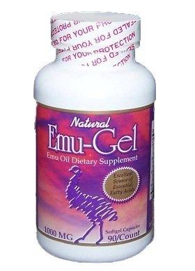 Purple Emu Ultra Emu-Gel Emu Oil Dietary Supplement Soft Gel Capsules 90/750mg by Purple Emu