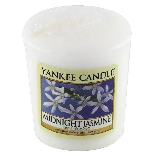 YANKEE CANDLE 1129555E Bougie Votive Senteur Jasmin de Minuit 49 g Blanc