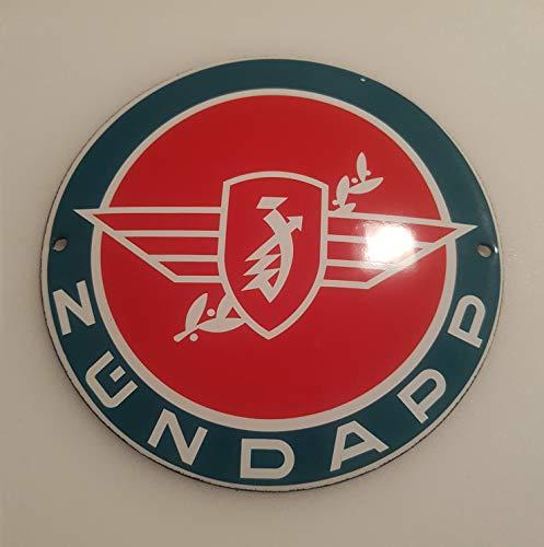 - Classic ZÜNDAPP Motorcycles Porcelain Enamel Door Sign EMAILLE! 4 INCH = 12cm! Weight 0.22lb!! Replica!