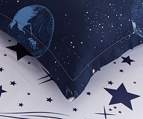 Space Star Bedding For Kids Boys piece Pillowcase Sets