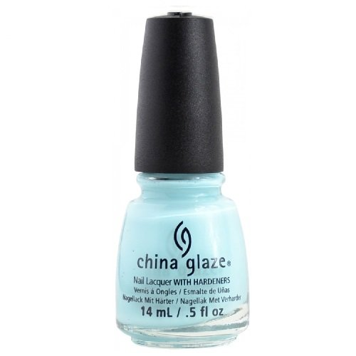 China Glaze Avant Garden Collection, at Vase Value, Baby Blue ()