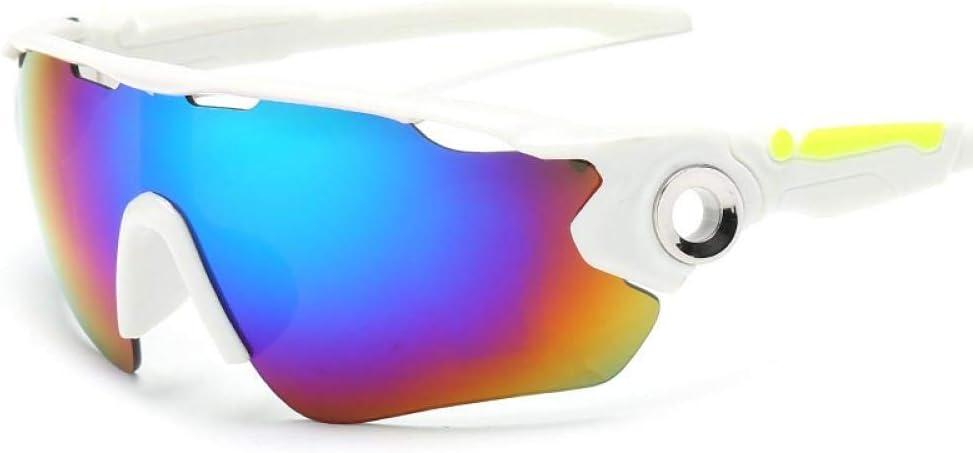 Gafas de Sol polarizadas Retro Medio Marco clásico para Hombre y Mujer, Montar al Aire Libre Gafas de Sol con protección UV