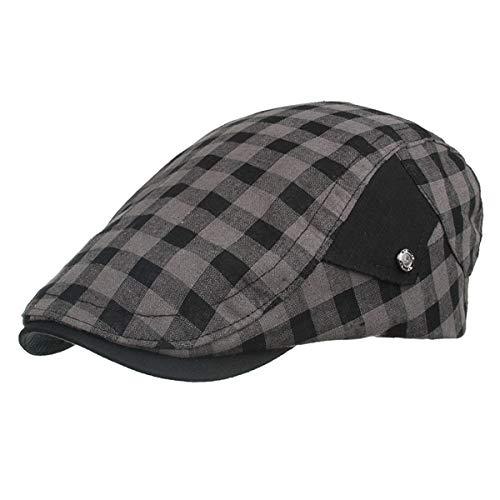 A Retro periódicos D Vendedor Bere hat Informal Sombreros Gorra qin Sombrero GLLH Hombres de Sombrero para Sombrero de wAHtxq