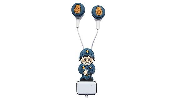 G.E.M.M Auricular con micrófono para móvil, mp3, mp4 etc ...