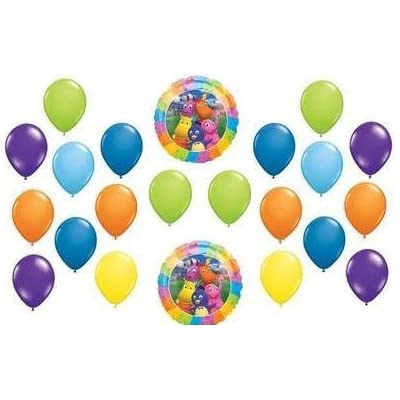 BACKYARDIGANS party supplies 22 birthday balloons by Lgp: Toys & Games