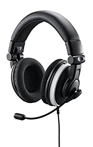 Cooler Master Ceres-500 Foldable Gaming Headset with Powerful 40mm Drivers and Detachable Microphone for PC, PS4, PS3, Xbox 360