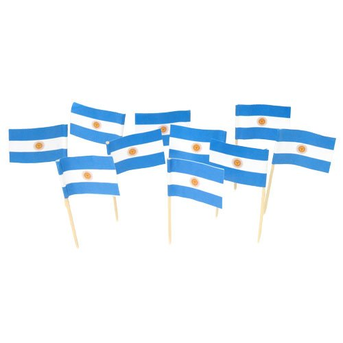 Argentina Argentinian Argentine Flag Toothpicks product image