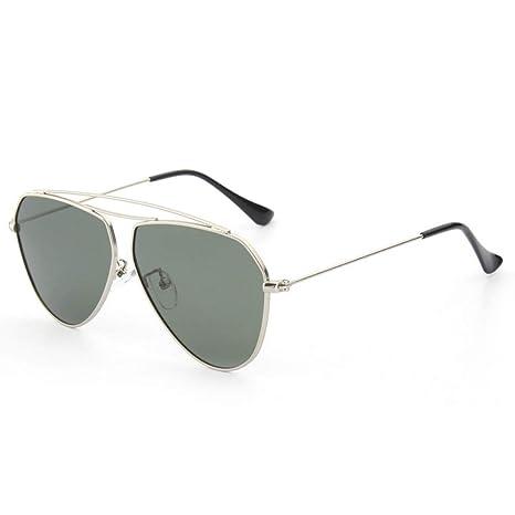 DING-GLASSES Gafas Gafas de Sol de Colores Resina de Metal ...
