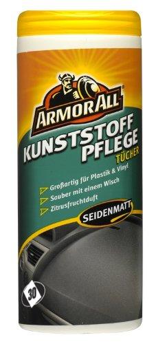 Armor All Kunststoffpflege Tücher (33025L) , seidenmatt, 30 Stck.
