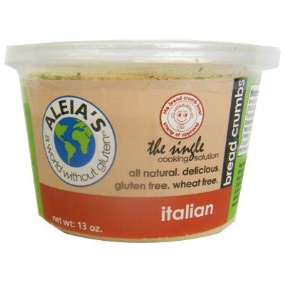 Aleias Gluten-Free Italian Bread Crumb, 13 Ounce -- 12 per case. by Aleias