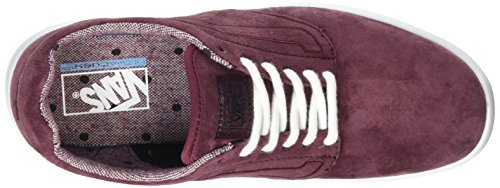 Iso Vans Dots tweed Adulto Zapatillas Rojo 1 5 Unisex White Burgundy true qfwdxCfr