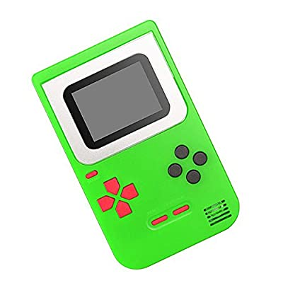 CCGTOY Handheld Game Console 2 Inch w/ 268 Games Retro Game Player Birthday Presents for Children: Electronics