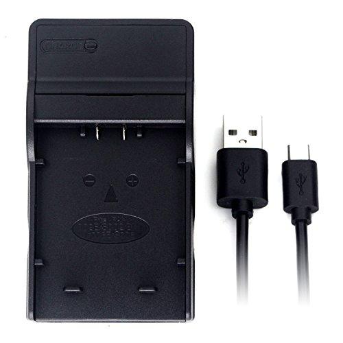 CGA-S002 USB Charger for Panasonic Lumix DMC-FZ1, DMC-FZ10, DMC-FZ15, DMC-FZ18, DMC-FZ2, DMC-FZ20, DMC-FZ28, DMC-FZ3, DMC-FZ30, DMC-FZ35, DMC-FZ38, DMC-FZ4, DMC-FZ5, DMC-FZ50, DMC-FZ7, DMC-FZ8 battery