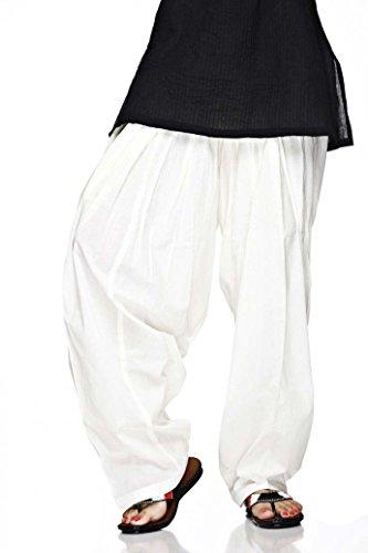 Plain Indian Cotton Churidar Pants Tights in Several Colours Yoga Kurti