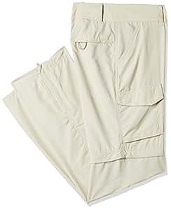 Columbia Silver Ridge Convertible Pant Pantalón de Senderismo 2-en-1 para Mujer, Beige (Fossil), W34/R